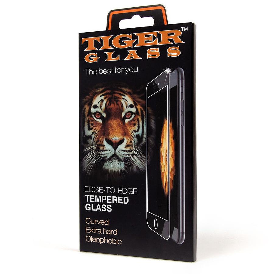 Фото - Защитное стекло Tiger 3d iPhone XR 6.1, черный защитное стекло pero 3d для iphone xr чёрное