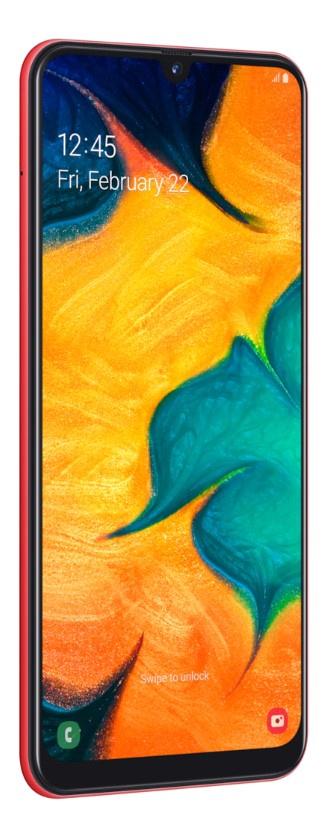 Смартфон Samsung SM-A305F 64 Gb смартфон samsung sm a520fzbdser