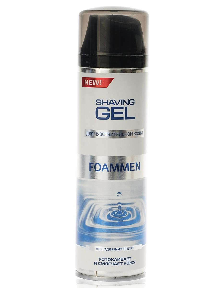 Гель для бритья Foammen Для чувствительной кожи пена для бритья из мыла