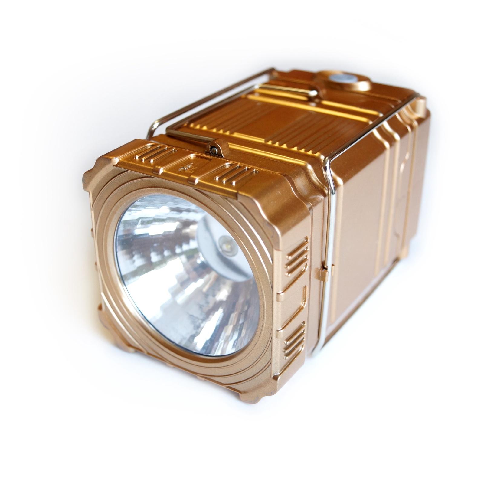 Кемпинговый фонарь Кемпинговый светодиодный фонарь, золотой