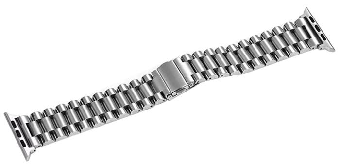 Ремешок для смарт-часов COTEetCI W26 Steel Band for Apple Watch 38/40mm, серебристый чехол для смарт часов interstep спортивный для apple watch 40mm серебристый