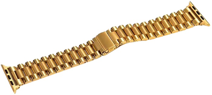 Ремешок для смарт-часов COTEetCI W26 Steel Band for Apple Watch 42/44mm, золотой цена