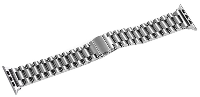 Ремешок для смарт-часов COTEetCI W26 Steel Band for Apple Watch 42/44mm, серебристый цена
