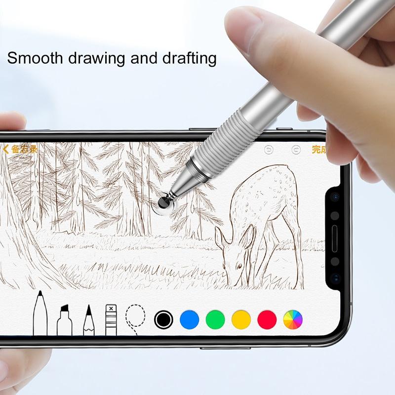 Фото - Стилус для мобильного телефона Baseus Универсальный стилус, серый металлик ноутбуки