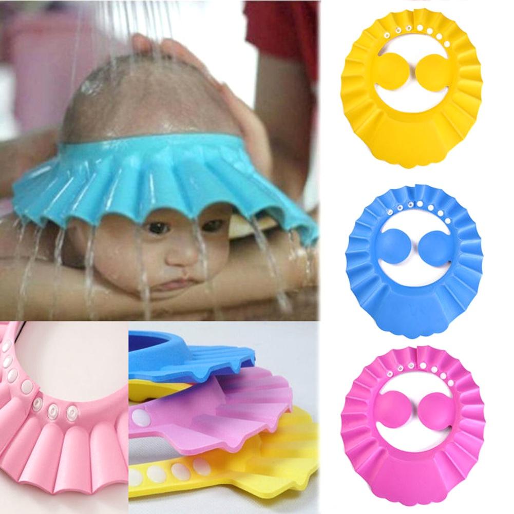 Козырек для мытья головы TopSeller защитный желтый