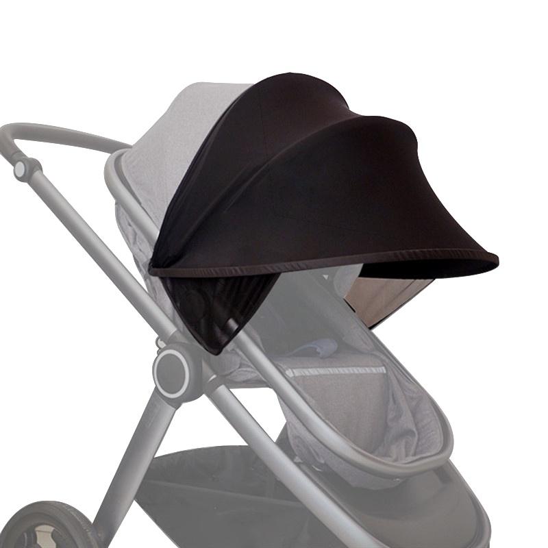 Аксессуар для колясок TopSeller Солнцезащитный козырек для детской коляски черный зонты для колясок altabebe солнцезащитный al7000