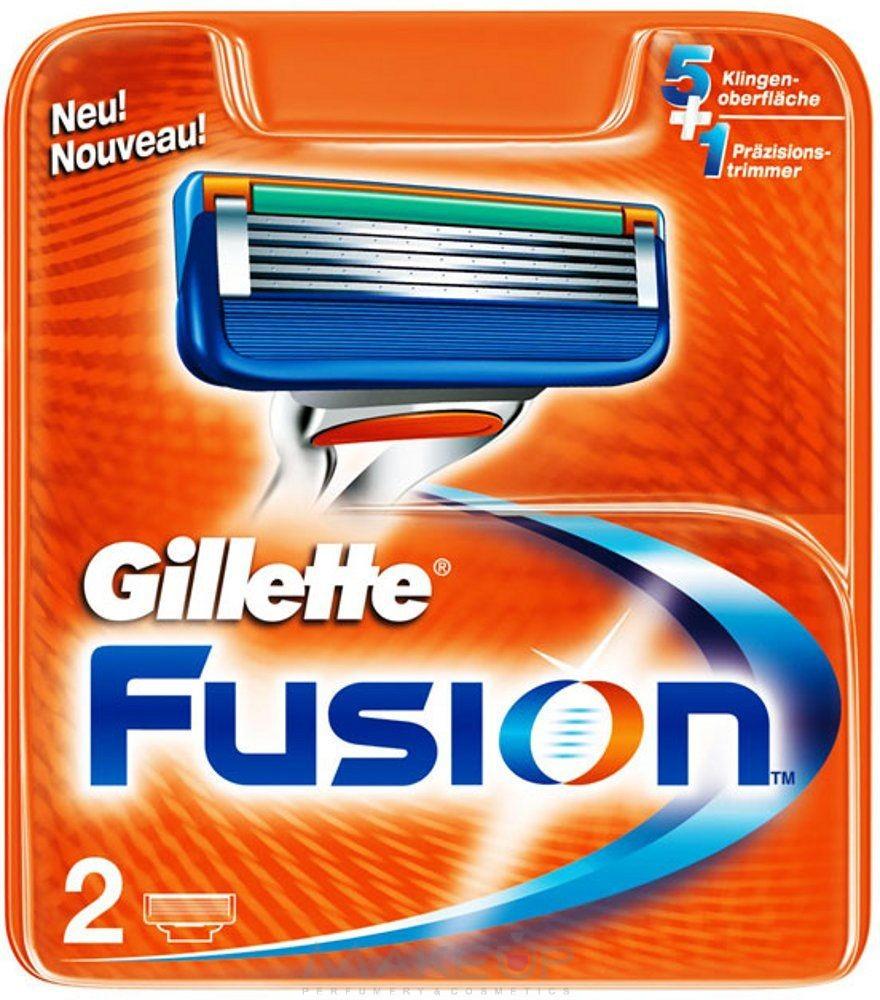 Сменные кассеты для бритв Gillette Fusion 2 шт gillette сменные кассеты fusion proglide power 2 шт