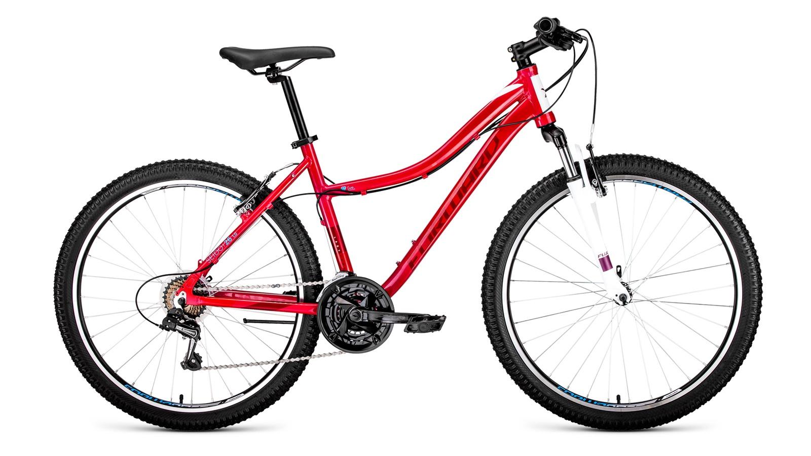 Велосипед Forward Seido 26 1.0, розовый