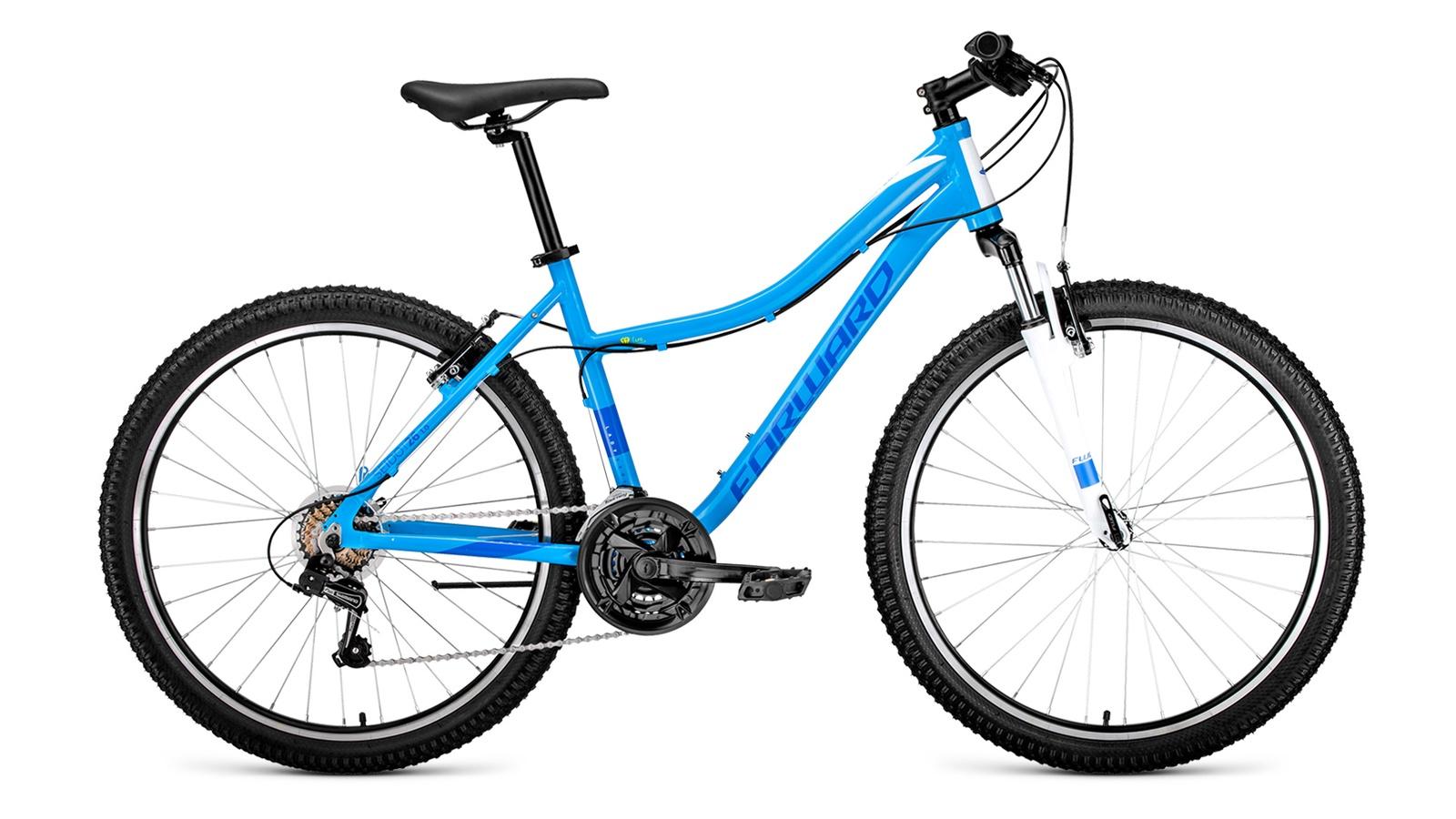 Велосипед Forward Seido 26 1.0, синий