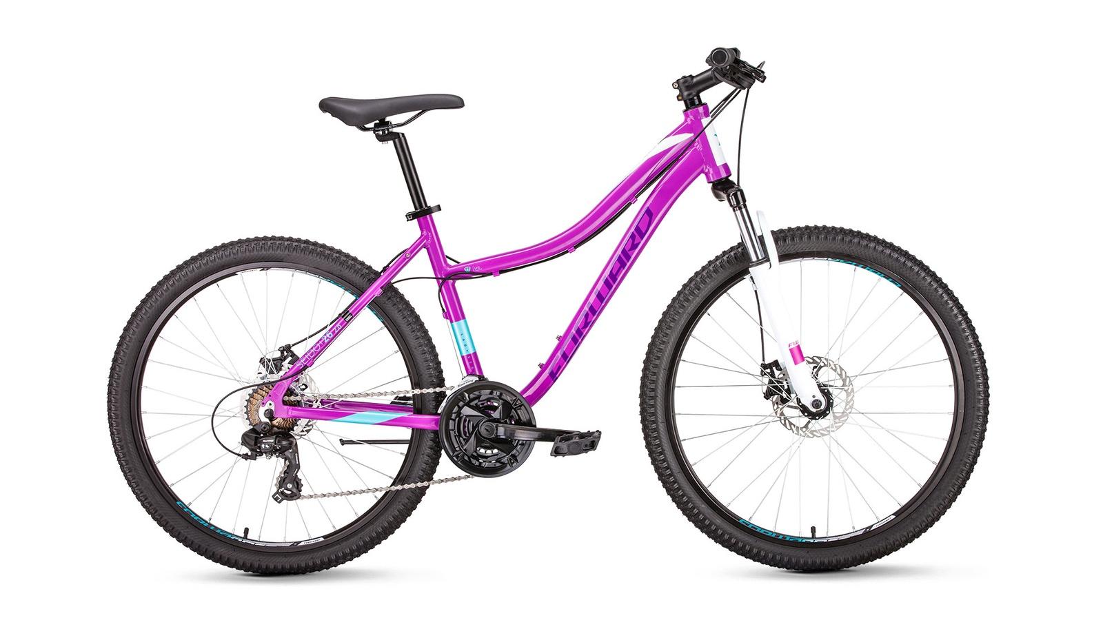 Велосипед Forward Seido 26 2.0 disc, фиолетовый велосипед giant escape 2 disc 2019
