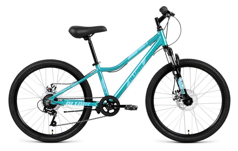 Велосипед Forward AL 24 D 2019, бирюзовый велосипед forward twister 24 1 0 2019