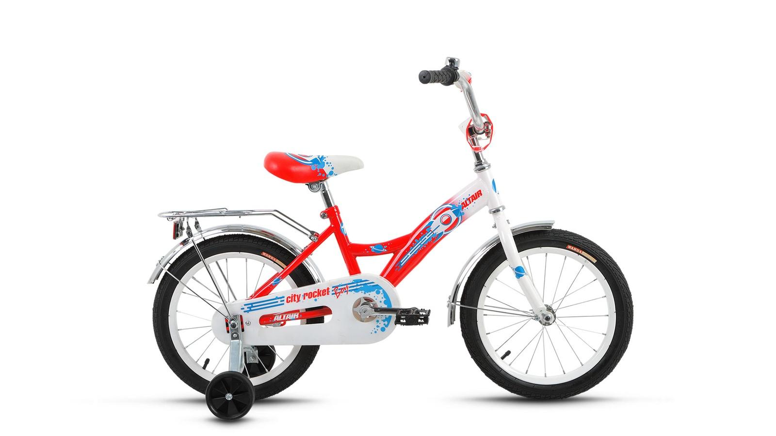 Велосипед Forward City Boy 16 2017, белый, красный