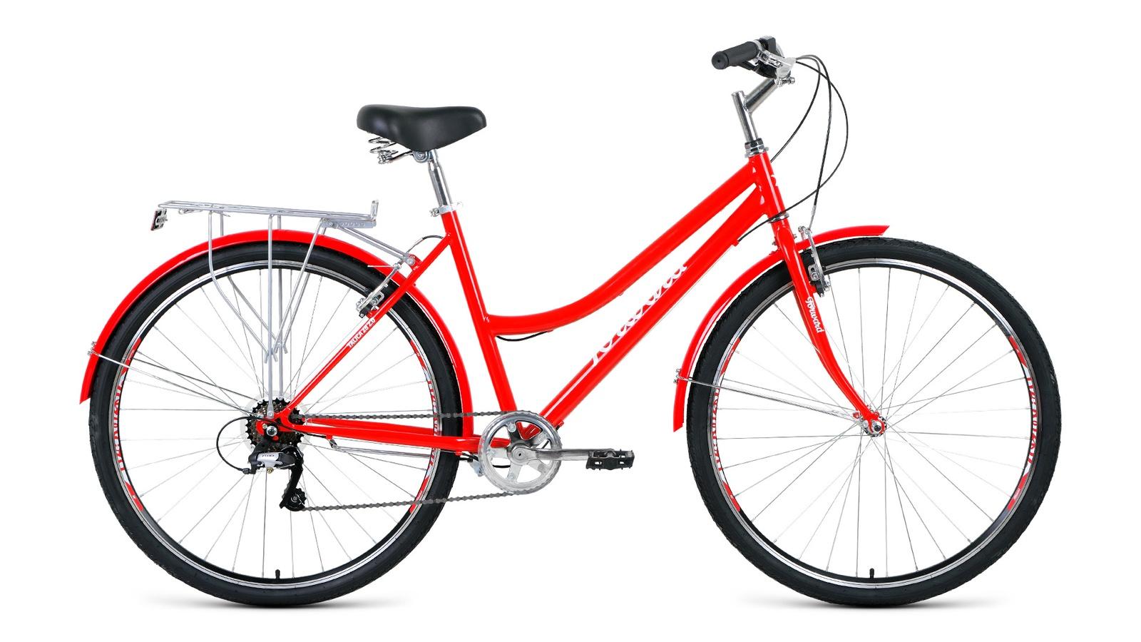 Велосипед Forward Talica 28 2.0, красный велосипед forward rockford 28 голубой