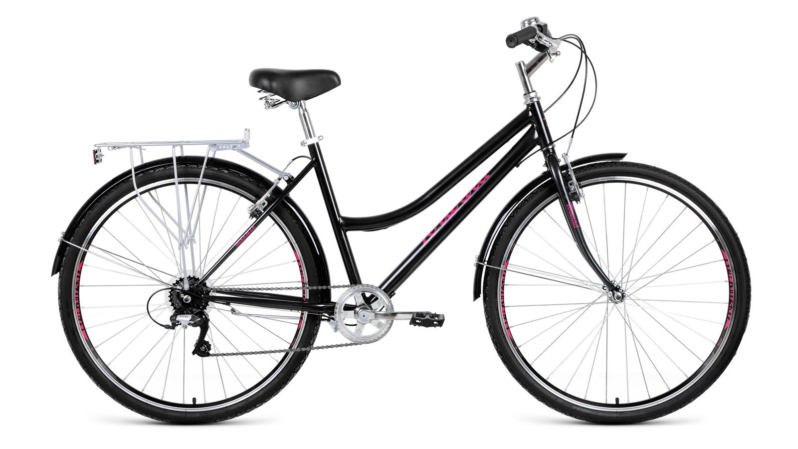 Велосипед Forward Talica 28 2.0, черный велосипед forward barcelona 1 0 2017