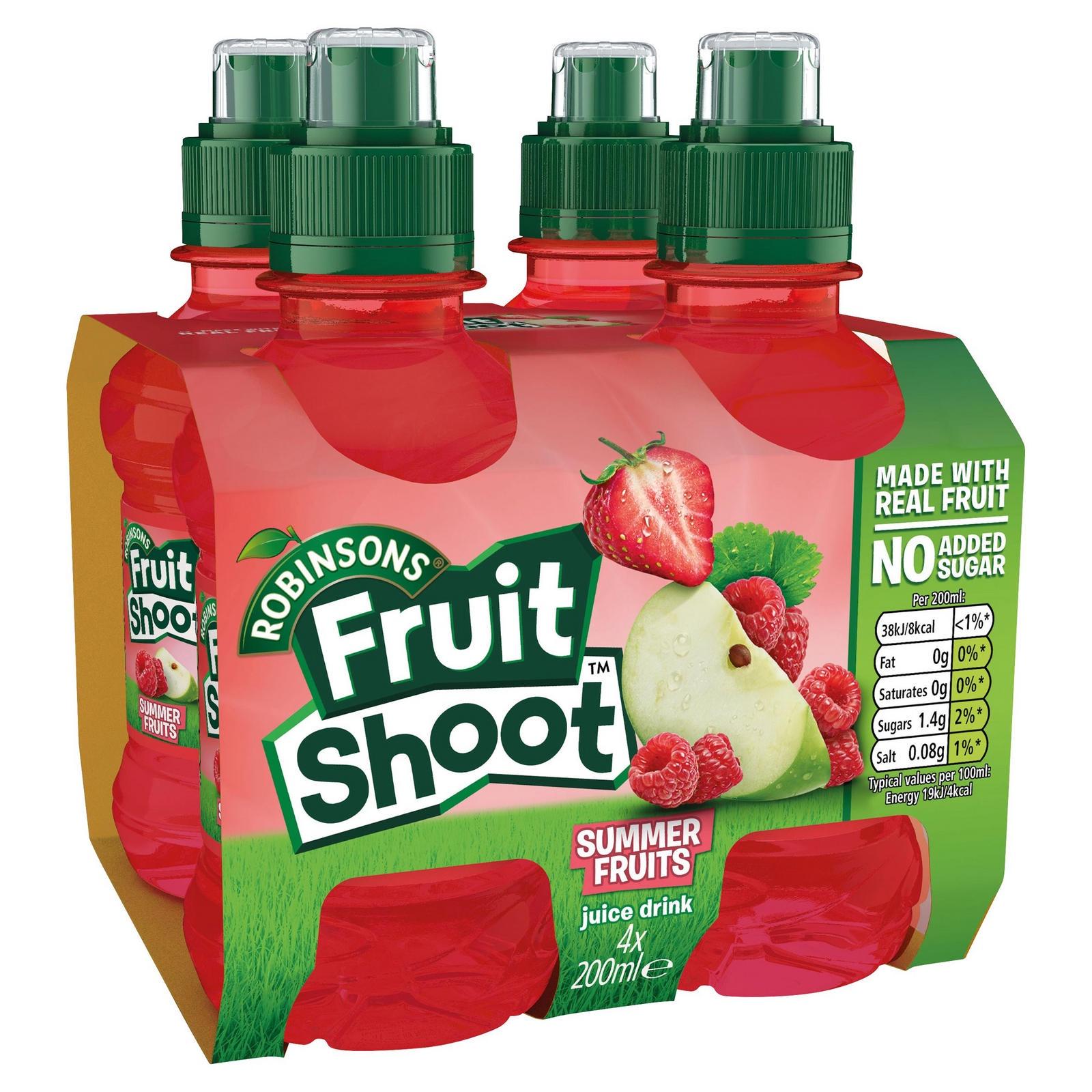 Напиток ROBINSONS FRUIT SHOOT Summer Fruits,200мл