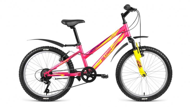 Велосипед Altair MTB HT 20 2.0 Lady, розовый altair mtb ht 26 1 0 lady 15 2017 blue
