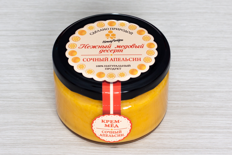 Нежный медовый десерт HoneyForYou Сочный апельсин