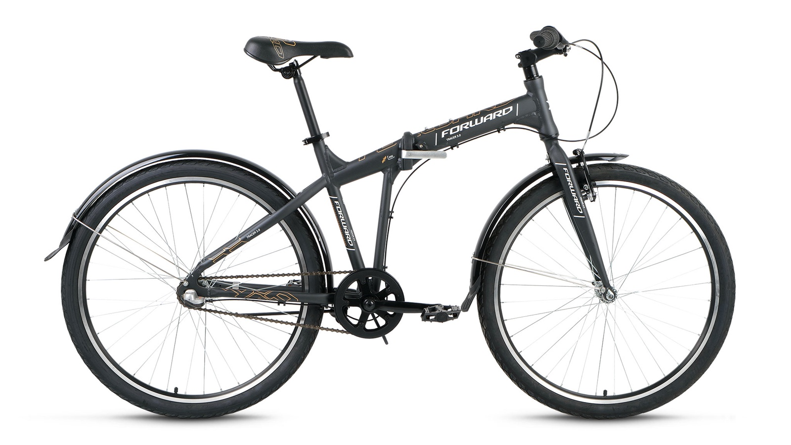Велосипед Forward Tracer 26 3.0, серый велосипед forward tracer 3 0 рама 17 белый