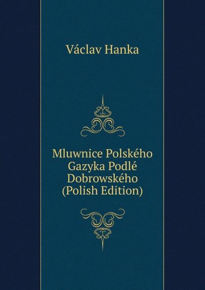 Vaclav Hanka Mluwnice Polskeho Gazyka Podle Dobrowskeho (Polish Edition) vaclav hanka mluwnice cili saustawa ceskeho gazyka podle dobrowskeho