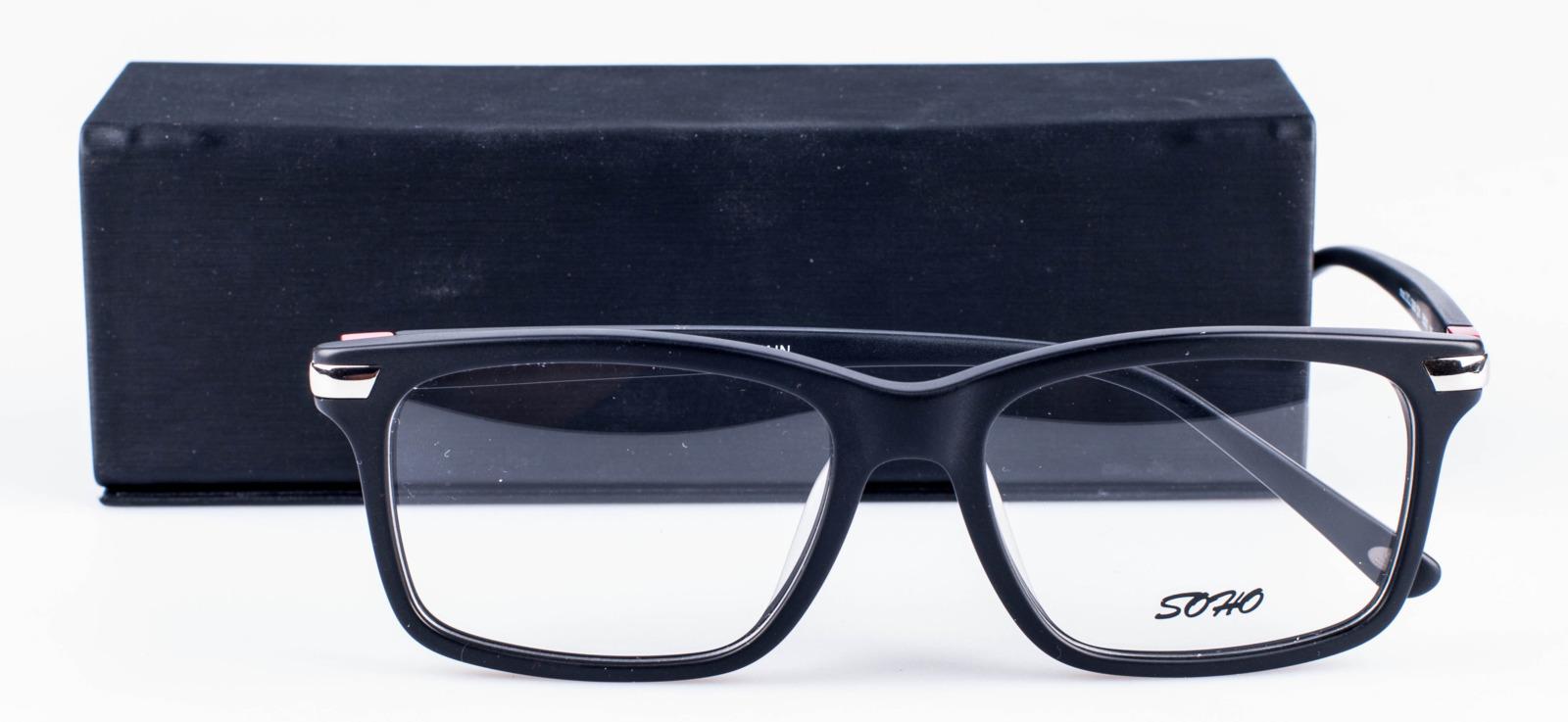 Оправа для очков мужская Soho, SCL1006 C01, черный оправа для очков dixon 2014 d9917