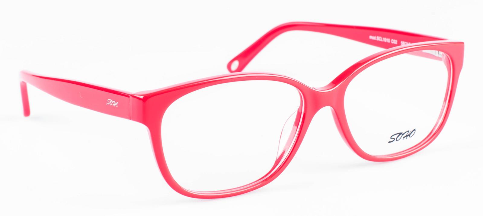 Оправа для очков женская Soho, SCL1010 C02, красный оправа для очков dixon 2014 d9917