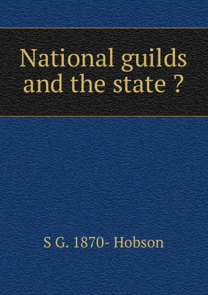 National guilds and the state .