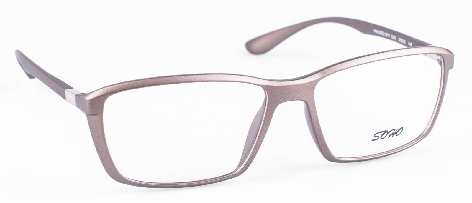 Оправа для очков мужская Soho, SCL1017 C03, бронза оправа для очков dixon 2014 d9917