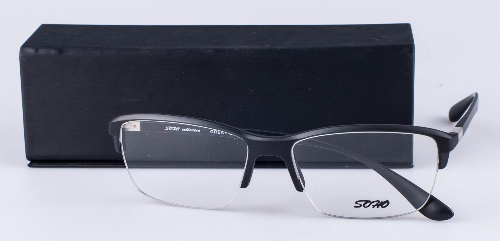 Оправа для очков мужская Soho, SCL1019 C01, черный цена