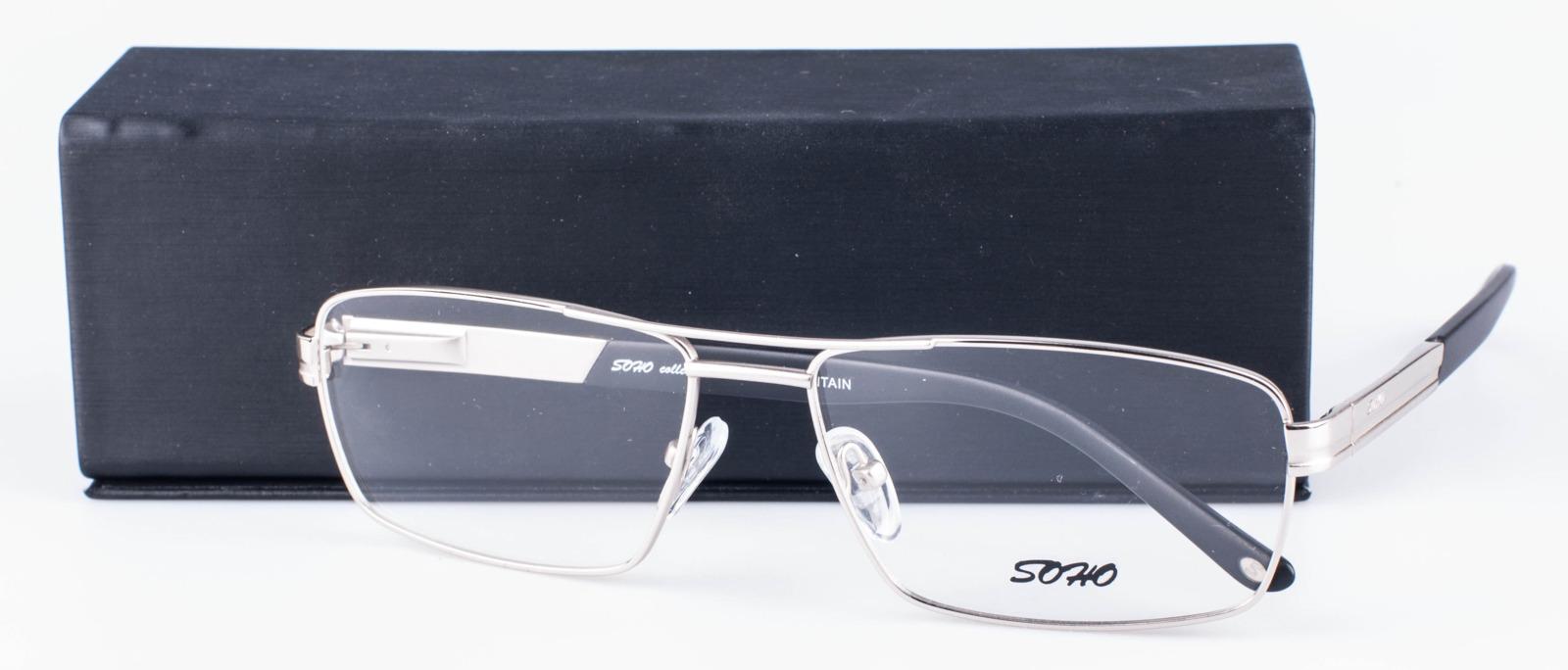 Оправа для очков мужская Soho, SCL1022 C01, серебристый оправа для очков dixon 2014 d9917