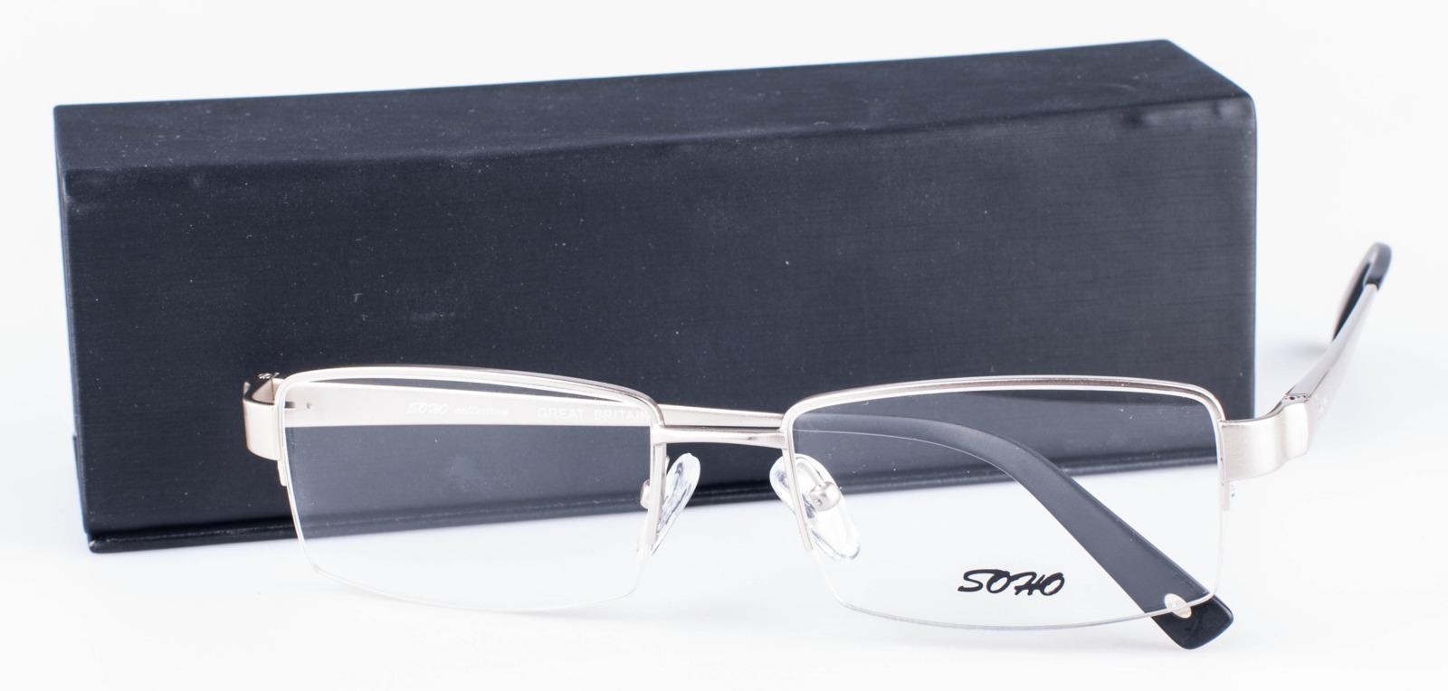 Оправа для очков мужская Soho, SCL1025 C01, серебристый оправа для очков dixon 2014 d9917