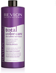 Шампунь Revlon Professional, антивымывание цвета, для блондинок, 1000 мл label m осветляющий шампунь для блондинок 1000 мл