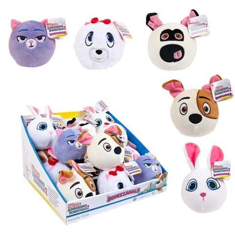 Кукла BEVERLY HILLS TEDDY BEAR Снежок Тайная жизнь домашних животных Squeezamals (Скуизамалс)