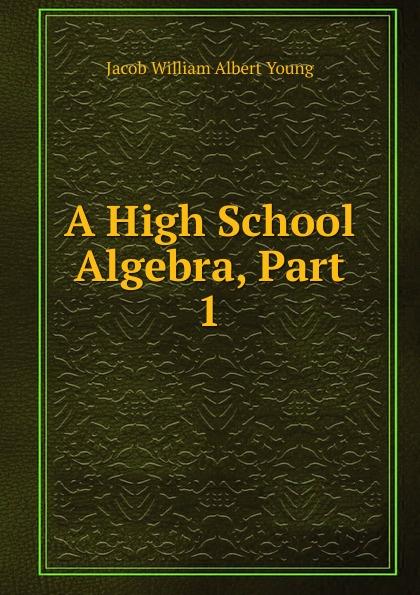 Jacob William Albert Young A High School Algebra, Part 1 a high school algebra