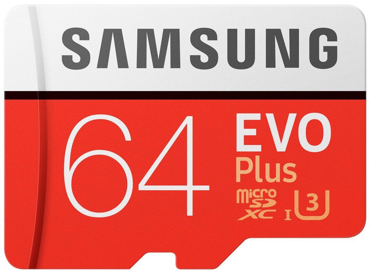 Карта памяти Samsung MB-MC64GA/RU карта памяти защищена от записи microsd