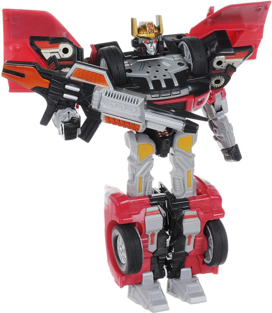 цена на WSBD World Робот-трансформер Mitsubishi Motors: Lancer Evolution & Pajero цвет красный