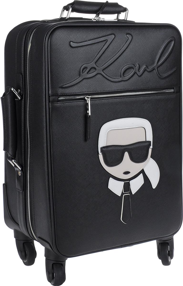 Чемодан на колесах Karl Lagerfeld, 86KW3089_999, черный