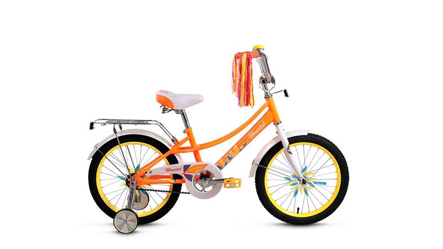 Велосипед Forward Azure 18 2017, оранжевый