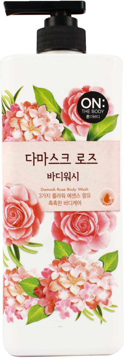 Гель для душа On The Body LG Damask Rose, увлажняющий, парфюмированный, 500мл