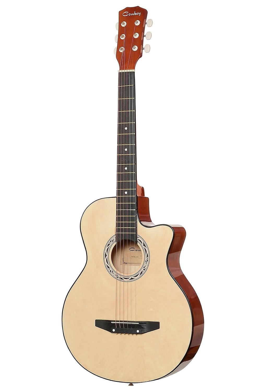 цена Акустическая гитара COWBOY 38C N, желтый онлайн в 2017 году