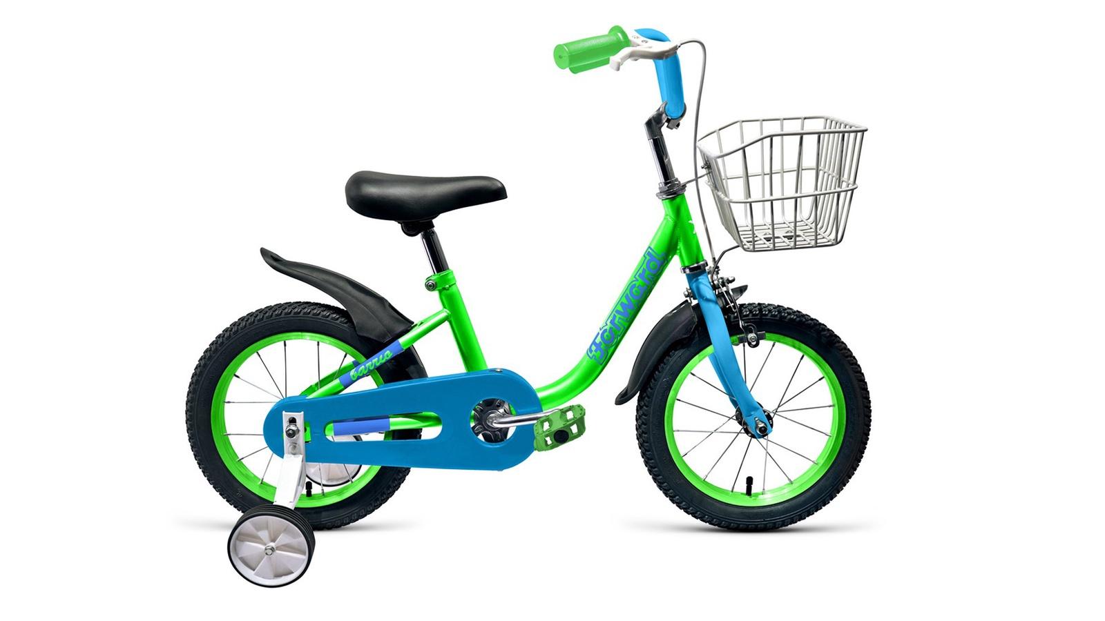Велосипед Forward Barrio 16 2019, зеленый