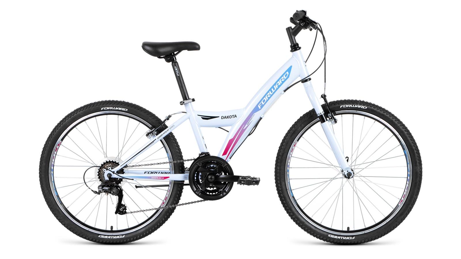 Велосипед Forward Dakota 24 1.0 2019, белый