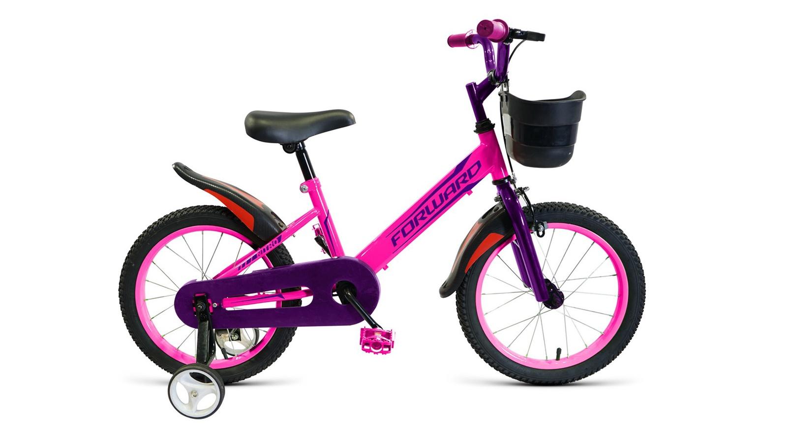 Велосипед Forward Nitro 16, розовый велосипед forward nitro 14 2019