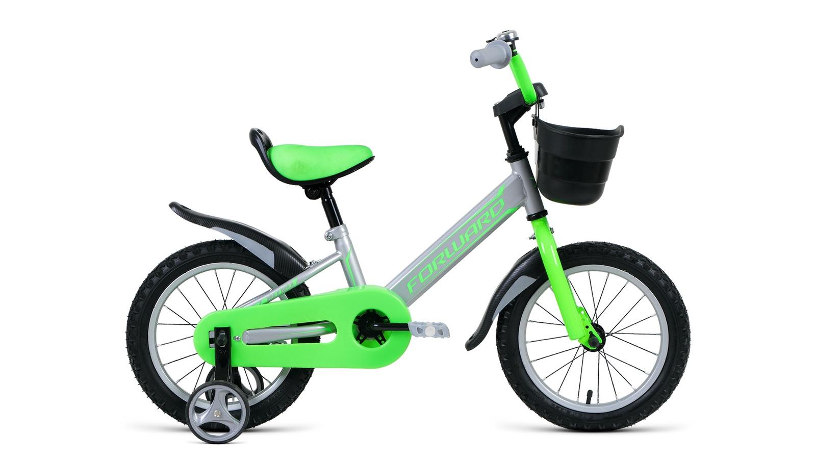 Велосипед Forward Nitro 14, серый велосипед forward nitro 14 2019