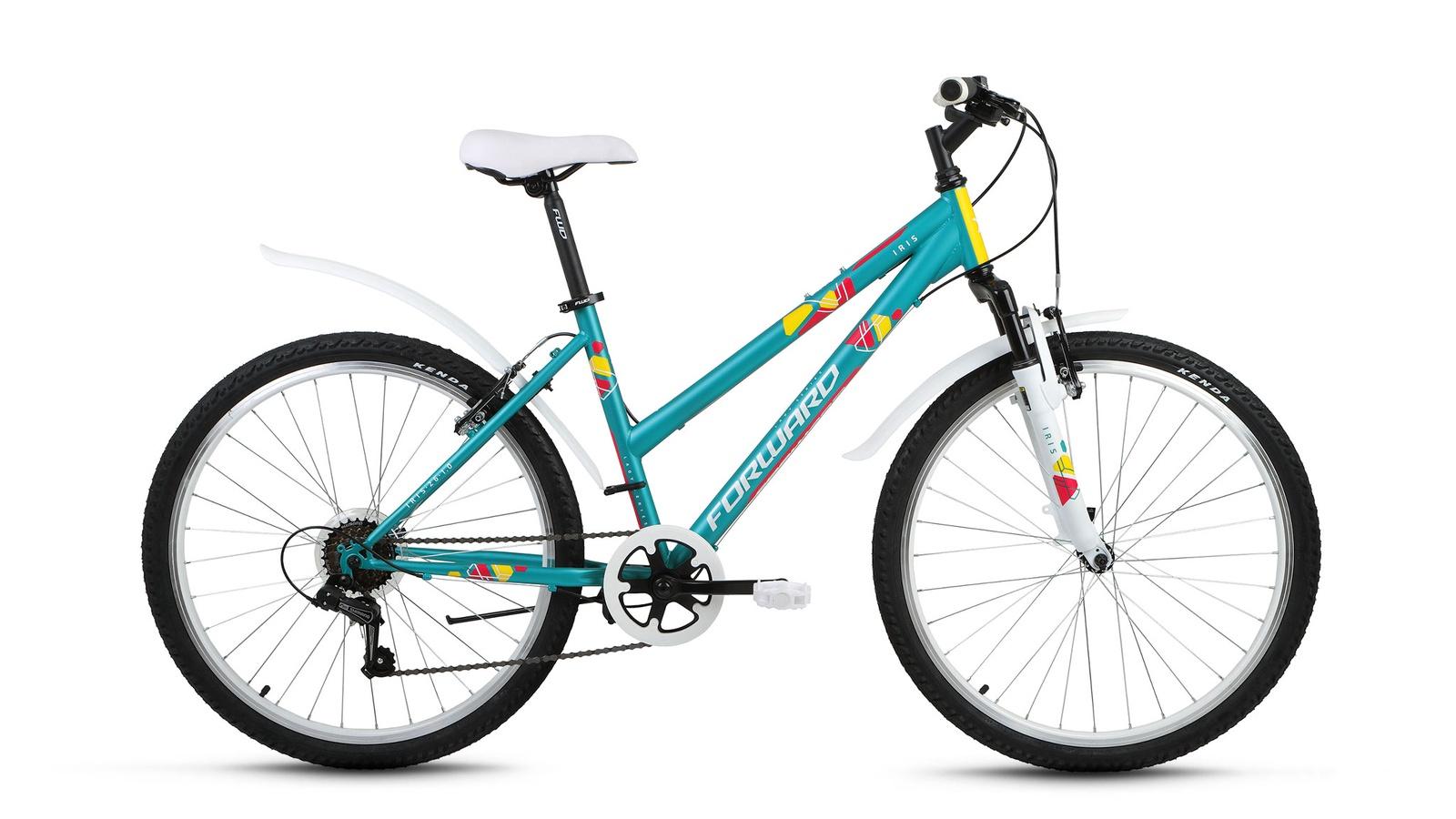 Велосипед Forward Iris 26 1.0, красный, синий недорго, оригинальная цена