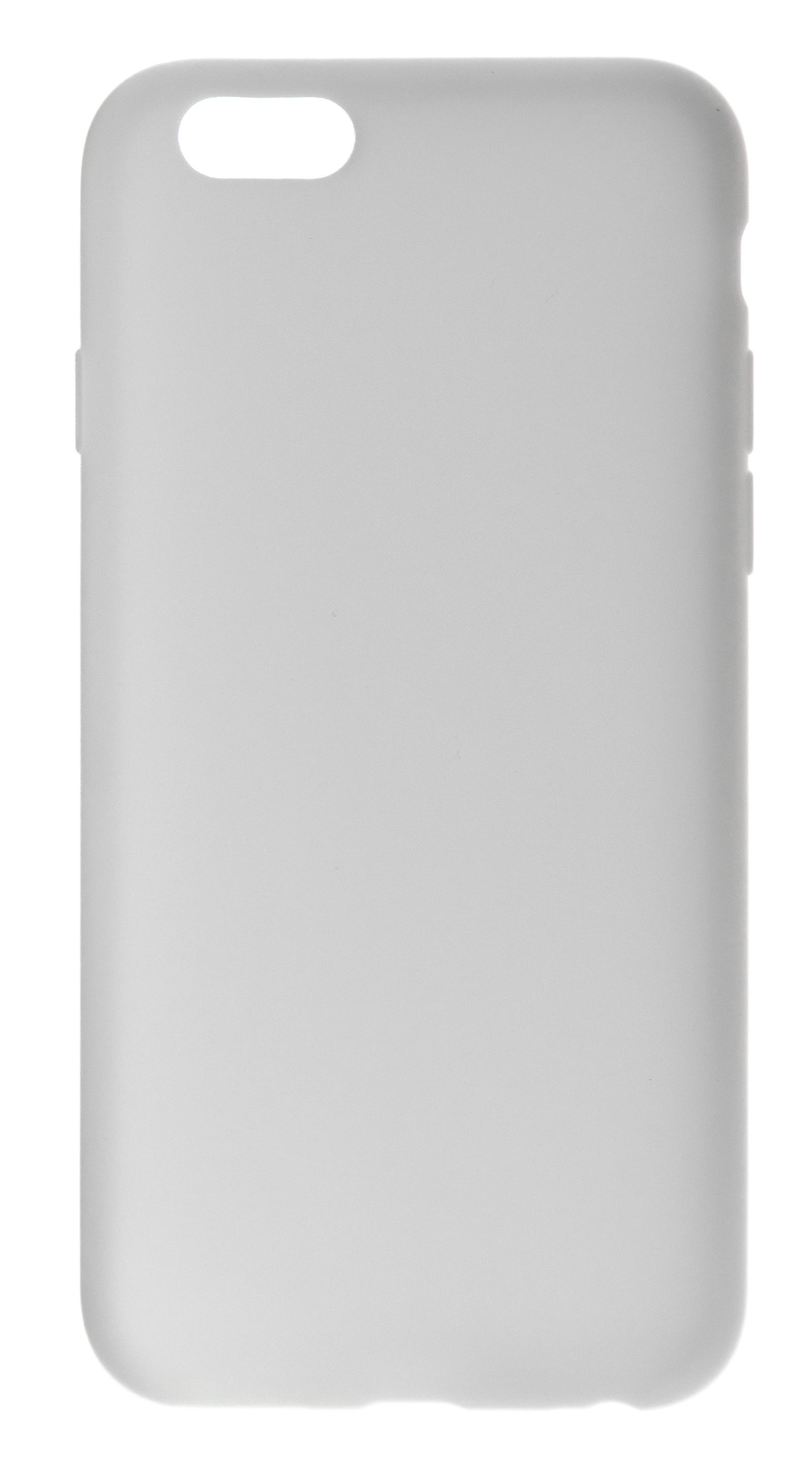 Чехол NUOBI для Apple iPhone 6/6S, белый матовый zakka чехол крышка zakka для apple iphone 7 8 силикон черный матовый