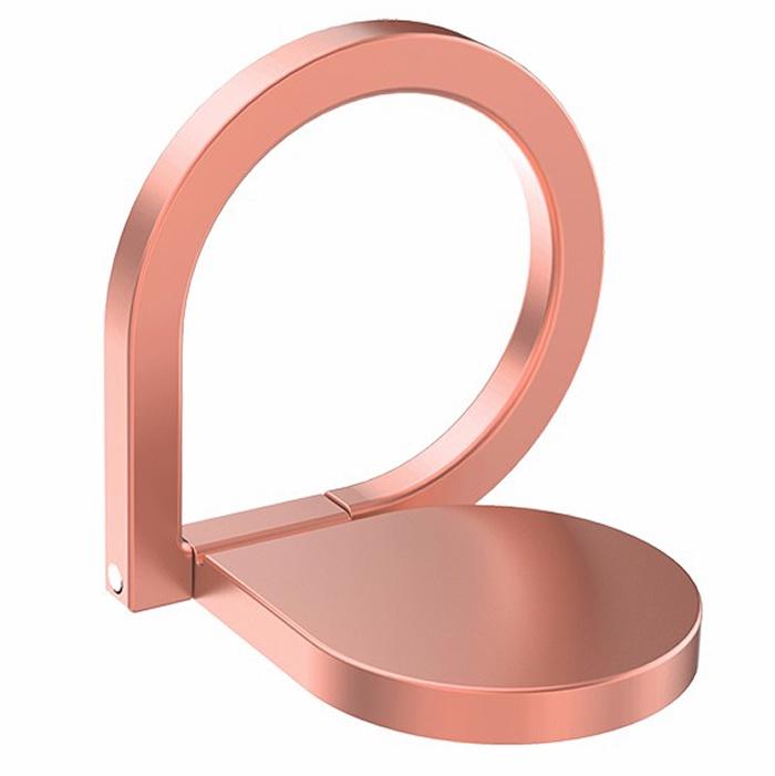 Кольцо-держатель для телефона iRing универсальный кольцо rose gold для смартфона, темно-розовый