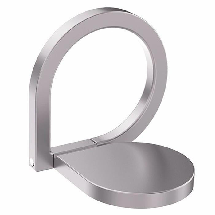 Кольцо-держатель для телефона iRing универсальный кольцо silver для смартфона, серебристый
