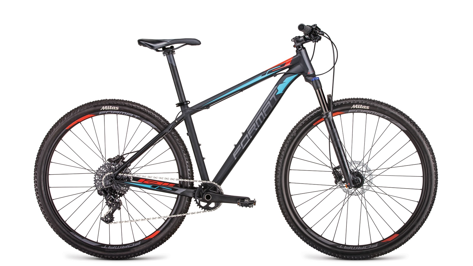 цена на Велосипед Format RBKM9M69E004, черный