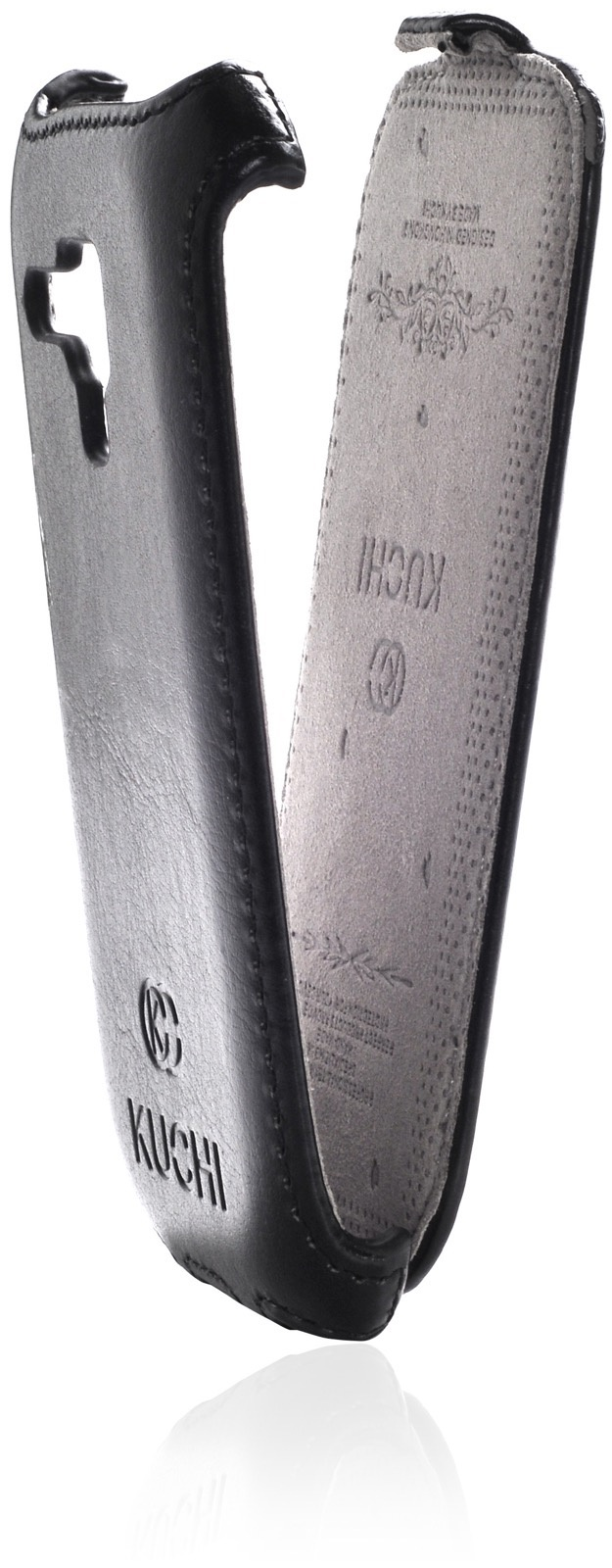 Чехол для сотового телефона Kuchi книжка стежка ORIGINAL для Samsung Galaxy S3 mini, черный
