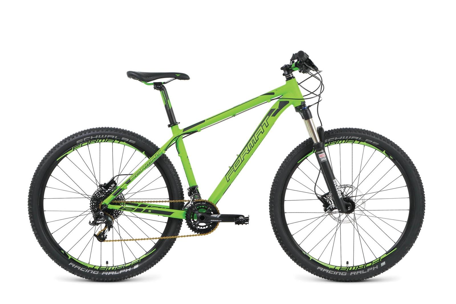 Велосипед Format RBKM9M67D002, зеленый